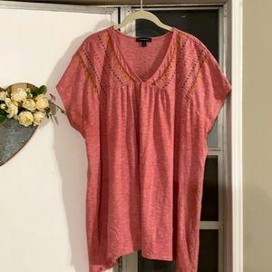 Lane Bryant summer blouse, size 22/24